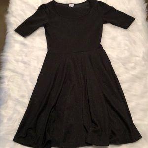 Lularoe little black Nicole dress